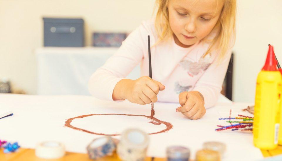 O dziecięcej kreatywności ipodejściu do malowania