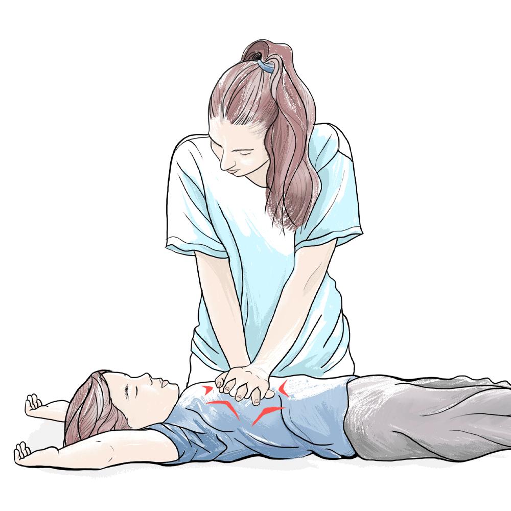 první pomoc dětem