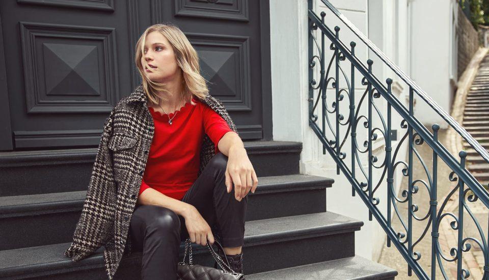 Jesienna moda nie musi być ponura! Postaw na kratę