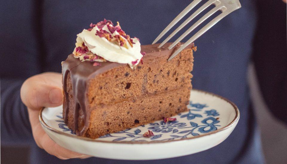 Przepis na tort kawowy inspirowany wiedeńskim Sacherem