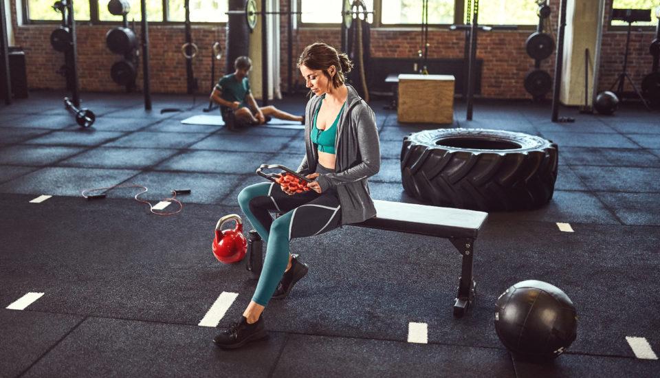 Jak przekonałam się do ćwiczeń iutrzymałam je pozamknięciu siłowni